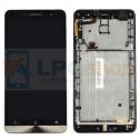 Дисплей для Asus ZenFone 6 (A600CG) в сборе с рамкой Черный