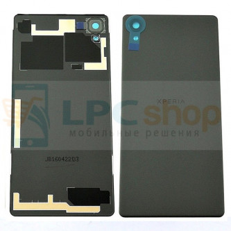 Крышка(задняя) Sony Xperia X F5121 / X Dual F5122 Черная