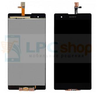 Дисплей для Sony Xperia T2 Ultra D5303 / T2 Ultra Dual D5322 в сборе с тачскрином Черный