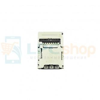 Коннектор SIM-Карты+MMC LG H961S/K350E/K410/K430DS (V10/K8 LTE/K10/K10 LTE)