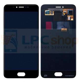 Дисплей для Meizu Pro 6 в сборе с тачскрином Черный