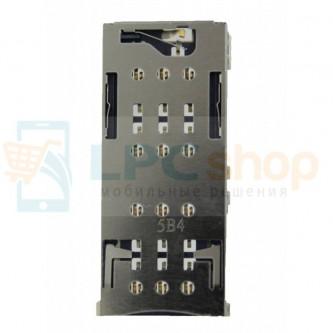 Коннектор SIM-Карты Sony XA Dual F3112 / F3212 XA Ultra Dual / G3312 L1 Dual