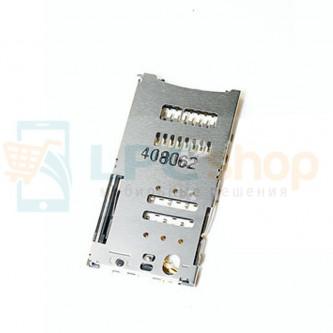 Коннектор SIM-Карты+MicroSD Alcatel OT-6014X/OT-6016X/OT-6045Y