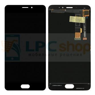 Дисплей для Meizu M3E в сборе с тачскрином Черный