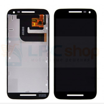 Дисплей для Motorola Moto G Gen.3 в сборе с тачскрином Черный