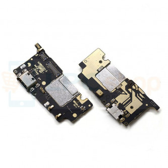 Шлейф разъема зарядки Шлейф Xiaomi Mi5C (плата)