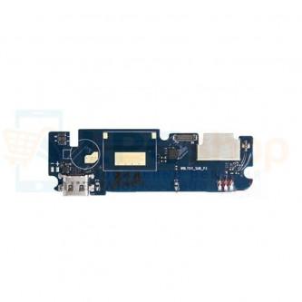 Шлейф разъема зарядки Highscreen Bay (плата) и микрофон P/N WBL7511_SUB_P3