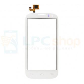 Тачскрин (сенсор) для Alcatel OT-5036D (Pop C5) Белый