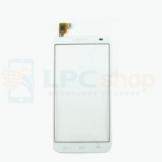 Тачскрин (сенсор) для Alcatel OT-6037Y (Idol 2) Белый