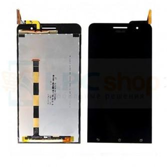 Дисплей для Asus ZenFone 6 (A600CG) в сборе с тачскрином Черный