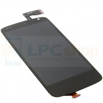 Дисплей для HTC Desire 500 / Desire 500 Dual в сборе с тачскрином Черный