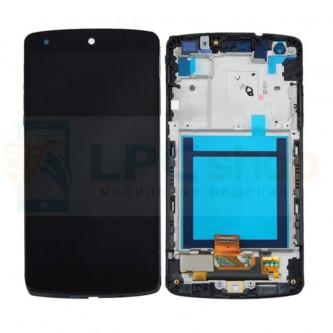 Дисплей для LG Nexus 5 D821 в сборе с рамкой Черный