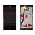 Дисплей для Nokia Lumia 720 в сборе с рамкой Черный