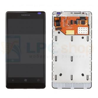 Дисплей для Nokia Lumia 800 в сборе с тачскрином