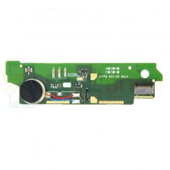 Шлейф Sony Xperia M2 Aqua D2403 плата вибро / микрофон