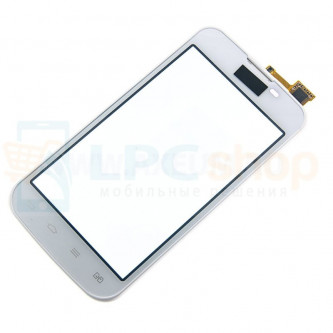 Тачскрин (сенсор) для LG G Optimus L5 2 Dual E455 Белый