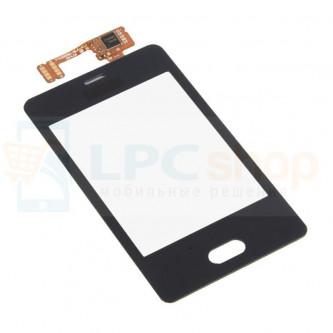 Тачскрин (сенсор) для Nokia 501 / 501 Dual Черный