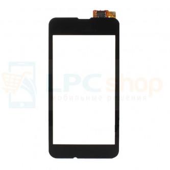 Тачскрин (сенсор) для Nokia 530 Dual (RM-1019) Черный