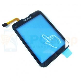 Тачскрин (сенсор) для Nokia C3-01 Черный