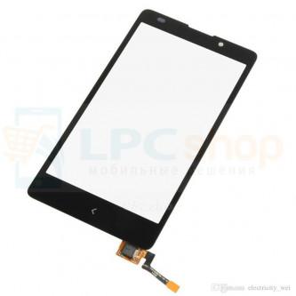 Тачскрин (сенсор) для Nokia XL Dual (RM-1030 / RM-1042) Черный