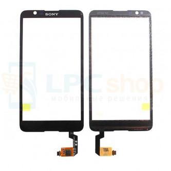 Тачскрин (сенсор) для Sony Xperia E4 / E4 Dual (E2105 / E2115) Черный
