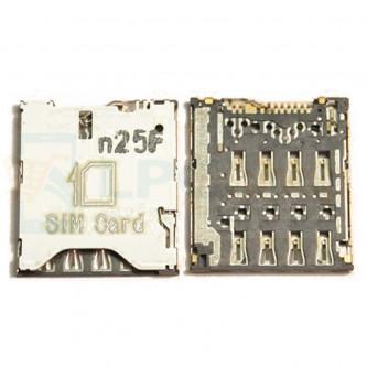 Коннектор SIM-Карты Alcatel OT-6012D / OT-6036Y / OT-6037Y / OT-6040D / OT-6050Y / POP C9 7047D / OT-7050Y