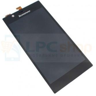 Дисплей для Lenovo K900 в сборе с тачскрином