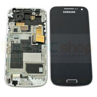 Дисплей для Samsung Galaxy S4 mini i9190 / Duos i9192 / i9195 в сборе с рамкой Черный