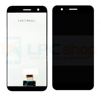 Дисплей для LG M250 (K10 2017) в сборе с тачскрином Черный