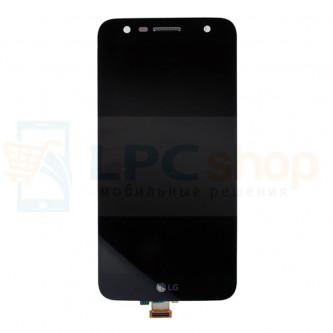 Дисплей для LG M320 (X power 2) в сборе с тачскрином Черный