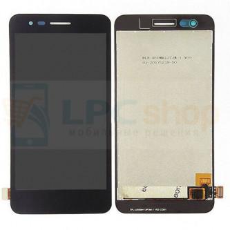 Дисплей для LG X230 (K7 2017) в сборе с тачскрином Черный