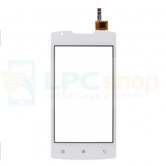 Тачскрин (сенсор) для Lenovo A1000 Белый