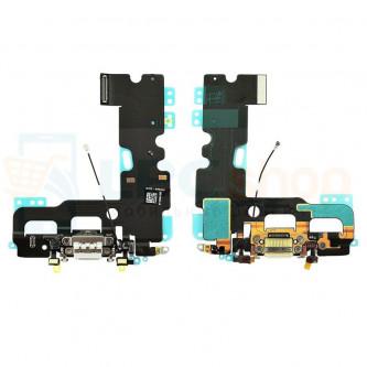 Шлейф разъема зарядки iPhone 7 и микрофона Белый