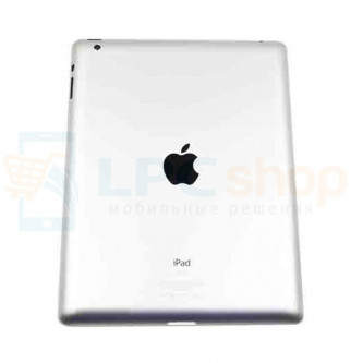 Крышка(задняя) iPad 3 Серебро WiFi+Cellular