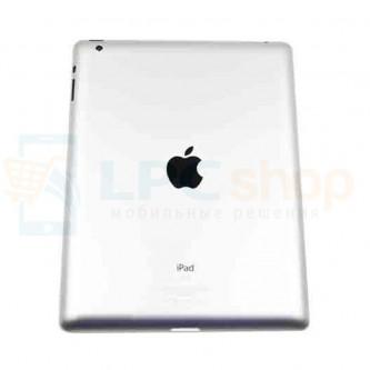 Крышка(задняя) iPad 4 Серебро WiFi+Cellular