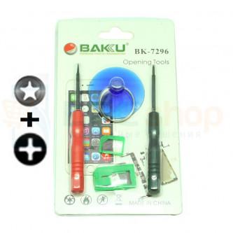 Набор инструментов BAKU BK-7296 (для iPhone) 2отвертки и присоска