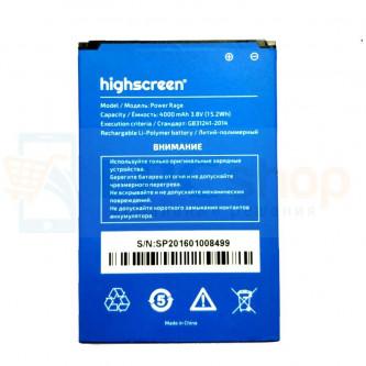 Аккумулятор для Highscreen Power Rage