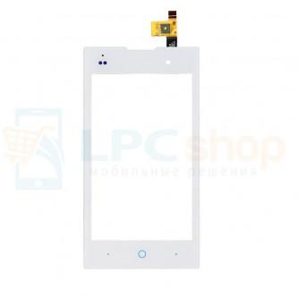 Тачскрин (сенсор) для ZTE V815W Kis2 Max / МТС Smart Start / Билайн Смарт 3 Белый