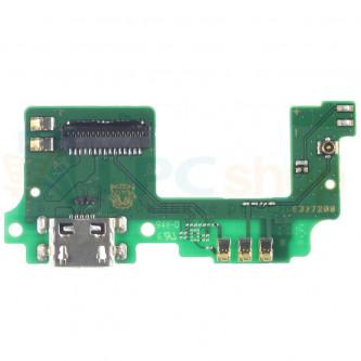 Шлейф разъема зарядки Fly FS518 Cirrus 13 / FS522 Cirrus 14 и микрофон