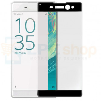 2,5D Защитное стекло (Full Screen) для Sony Xperia XA Ultra F3211 / F3212 (полное покрытие) Черное