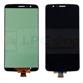 Дисплей для LG Stylus 3 M400DY в сборе с тачскрином Черный