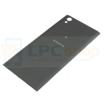 Крышка(задняя) Sony Xperia L1 G3311 / L1 Dual G3312 Черная