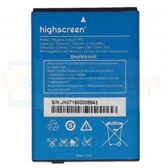 Аккумулятор для Highscreen Easy F/Easy F Pro