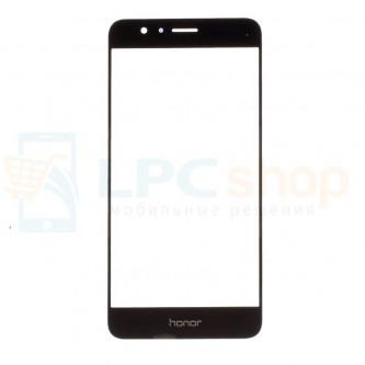 Стекло (для переклейки) Huawei Honor 8 Черное