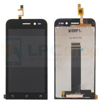 Дисплей для Asus ZB452KG (ZenFone Go)  в сборе с тачскрином Черный (P/N TFT5k1623FPC-A1-E)
