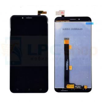 Дисплей для Asus ZC553KL (ZenFone 3 Max) в сборе с тачскрином Черный