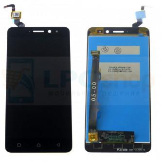 Дисплей для Lenovo K6 Power в сборе с тачскрином Черный
