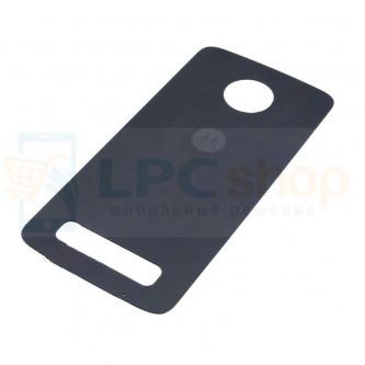 Крышка(задняя) Motorola Moto Z Play Черный
