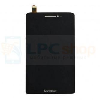 Дисплей для Lenovo IdeaTab S5000 в сборе с тачскрином Черный