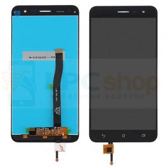 Дисплей для Asus ZenFone 3 (ZE552KL) в сборе с тачскрином Черный